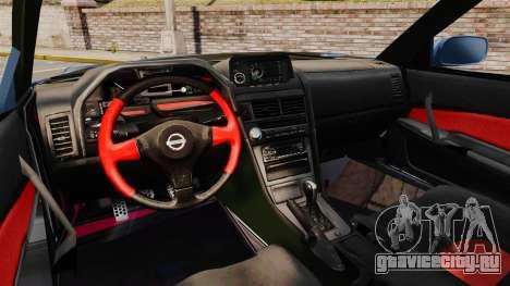 Nissan Skyline R34 GT-R Z-tune для GTA 4 вид сзади
