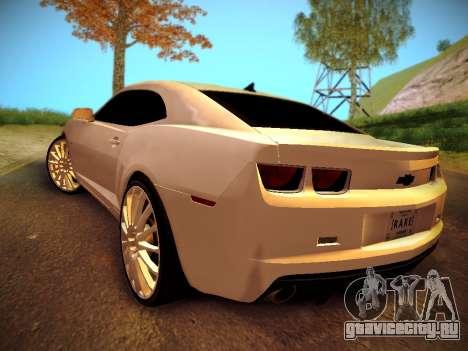 Chevrolet Camaro SS Tuning для GTA San Andreas вид слева