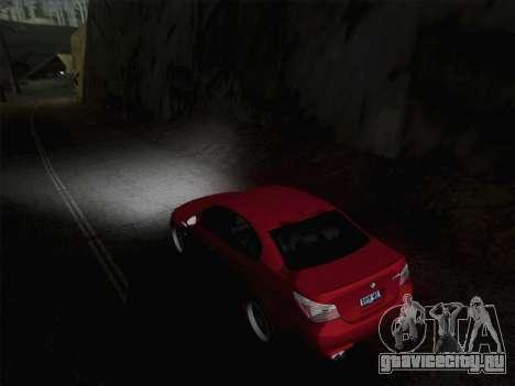 Ближний и дальний свет фар для GTA San Andreas