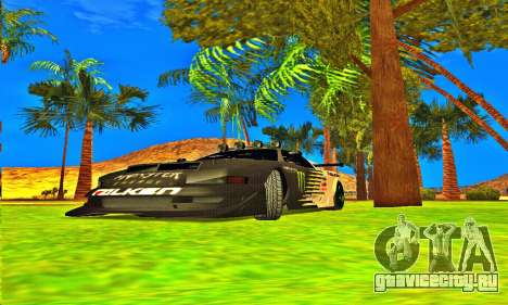 Infernus Rally Moster Energy 2012 для GTA San Andreas вид слева