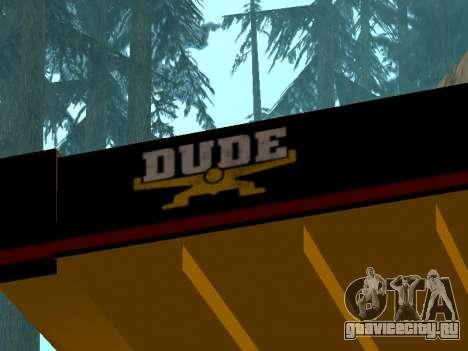Новый Dumper для GTA San Andreas вид справа