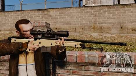 Снайперская винтовка AW L115A1 для GTA 4