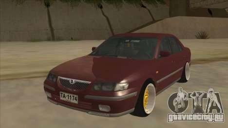 Mazda 626 Hellaflush для GTA San Andreas