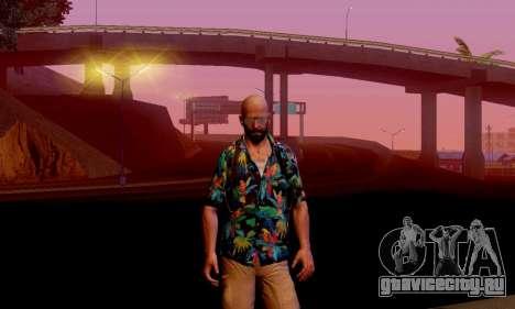 Max Payne 3 для GTA San Andreas второй скриншот