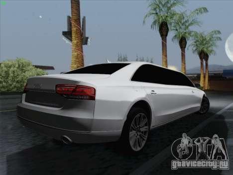 Аudi A8 Лимузин для GTA San Andreas вид справа