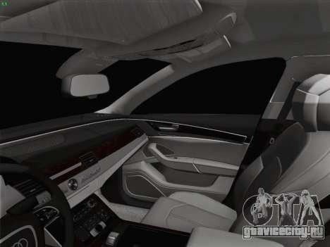 Аudi A8 Лимузин для GTA San Andreas салон