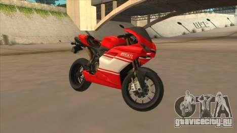 Ducatti Desmosedici RR 2012 для GTA San Andreas