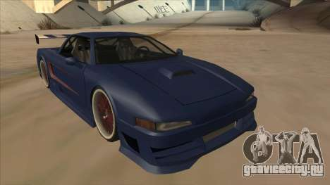 Infernus 2013 для GTA San Andreas вид слева