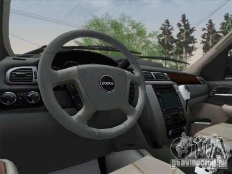 Dodge Ram Ambulance BCFD Paramedic 100 для GTA San Andreas вид снизу