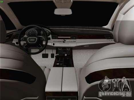 Аudi A8 Лимузин для GTA San Andreas двигатель