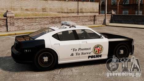 Полицейский Buffalo LAPD v2 для GTA 4 вид слева