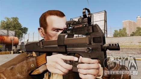 Пистолет-пулемёт FN P90 для GTA 4 третий скриншот