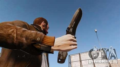 Тактический нож v2 для GTA 4 третий скриншот