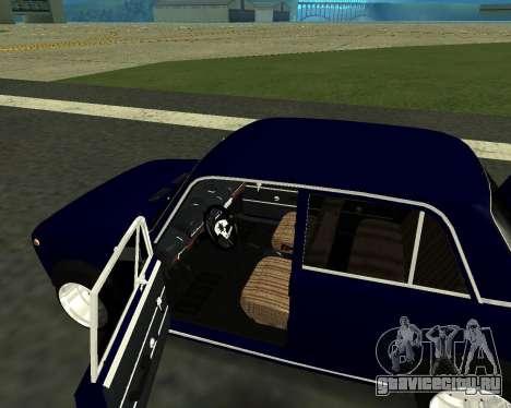 ВАЗ 2101 Baby v3 для GTA San Andreas вид сбоку