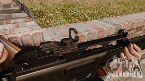 Штурмовая винтовка H&K MG36 v4 для GTA 4 четвёртый скриншот