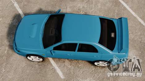 Subaru Impreza для GTA 4 вид справа