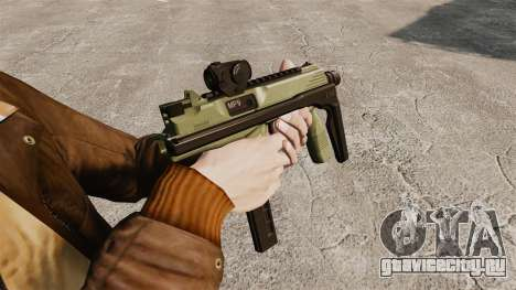 Тактический пистолет-пулемёт MP9 v2 для GTA 4 второй скриншот