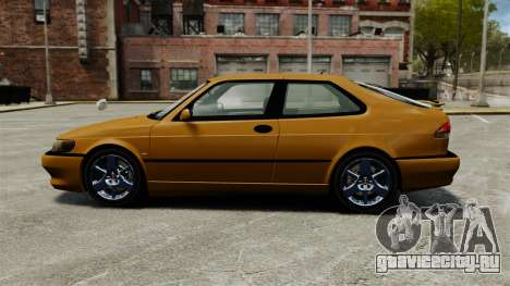 Saab 9-3 Aero Coupe 2002 для GTA 4 вид слева