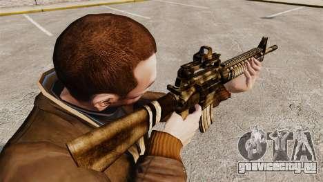 Автоматическая винтовка M16A4 для GTA 4 второй скриншот