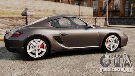 Porsche Cayman S для GTA 4 вид слева