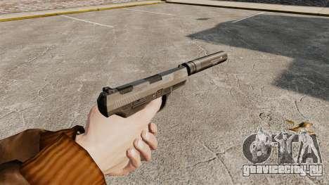 Самозарядный пистолет Walther P99 v2 для GTA 4 второй скриншот