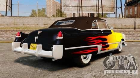 Cadillac Series 62 convertible 1949 [EPM] v2 для GTA 4 вид сзади слева