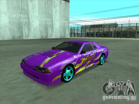 Drift elegy by KaMuKaD3e для GTA San Andreas салон