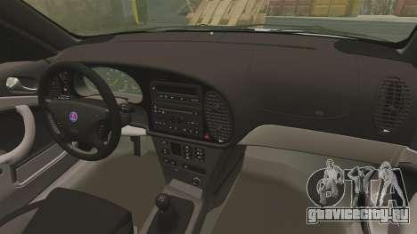 Saab 9-3 Aero Coupe 2002 для GTA 4 вид сбоку