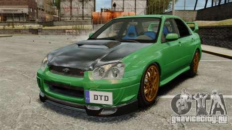 Subaru Impreza 2005 DTD Tuned для GTA 4