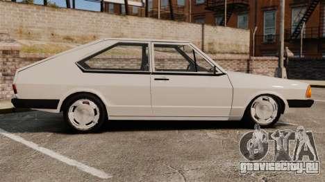 Volkswagen Passat TS 1981 для GTA 4 вид слева