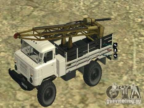 Газ 66 Буровая для GTA San Andreas двигатель