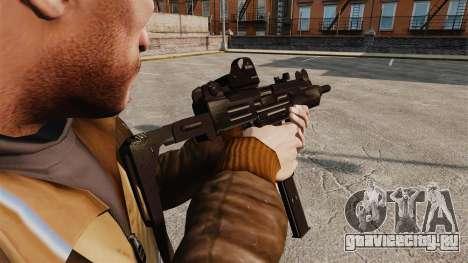 Тактическая узи v3 для GTA 4 второй скриншот