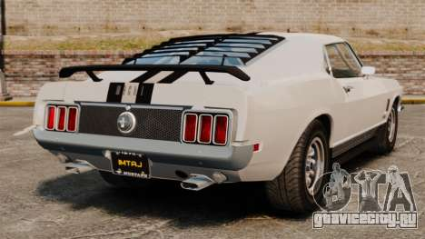 Ford Mustang Mach 1 Twister Special для GTA 4 вид сзади слева