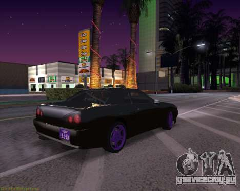 Elegy by Xtr.dor v2 для GTA San Andreas вид слева