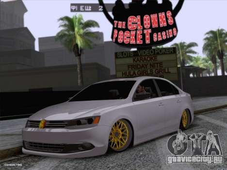 Volkswagen Jetta Rasta для GTA San Andreas