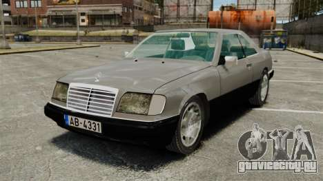 Mercedes-Benz W124 Coupe для GTA 4