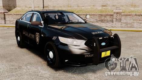 Ford Taurus Police Interceptor 2013 LCPD [ELS] для GTA 4