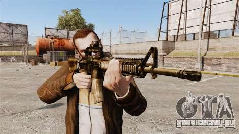 Автоматическая винтовка M16A4 для GTA 4 третий скриншот