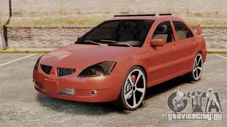 Mitsubishi Lancer Evolution IX 1.6 для GTA 4