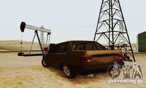 Fiat Duna для GTA San Andreas вид сзади слева