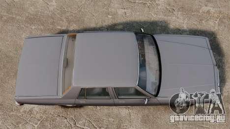Chevrolet Caprice 1989 для GTA 4 вид справа