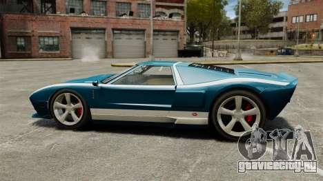 Обновлённый Bullet GT для GTA 4 вид слева
