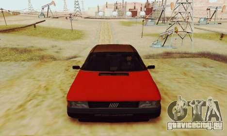 Fiat Duna для GTA San Andreas вид сзади