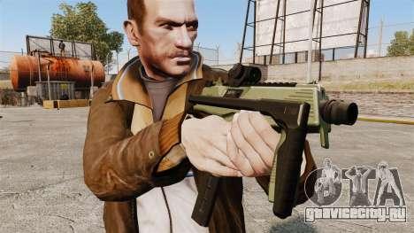 Тактический пистолет-пулемёт MP9 v2 для GTA 4 третий скриншот