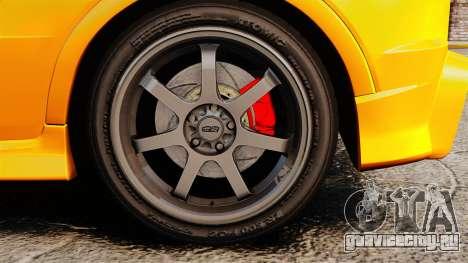 Honda Civic Type-R (FN2) для GTA 4 вид сзади