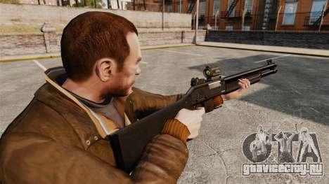 Тактический дробовик Fabarm SDASS Pro Forces v2 для GTA 4