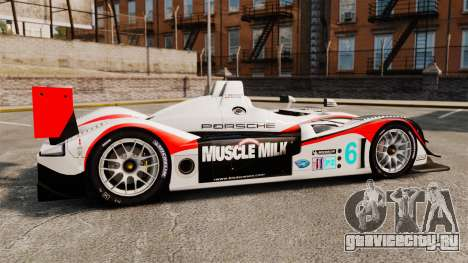 Porsche RS Spyder Evo для GTA 4 вид слева