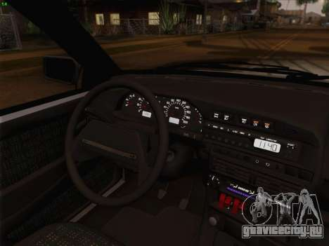 ВАЗ 2114 для GTA San Andreas двигатель
