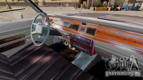 Ford LTD Crown Victoria для GTA 4 вид сзади
