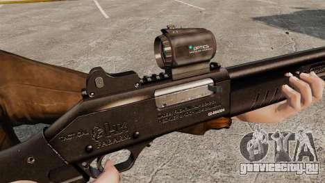 Тактический дробовик Fabarm SDASS Pro Forces v2 для GTA 4 четвёртый скриншот